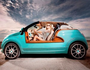 FIAT 500... GO TO THE BEACH!!!