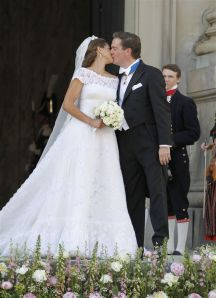 ROYAL WEDDING, SWEDISH PRINCESS MADELEINE