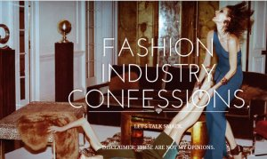 DIRTY BUSINESS IN THE FASHION INDUSTRY