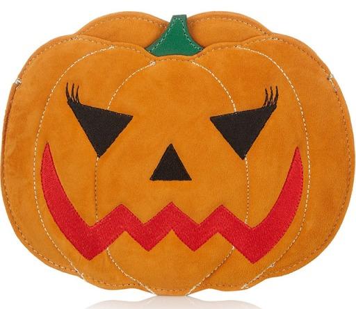 Charlotte-Olympia-Boo-Pumpkin-Suede-Clutch