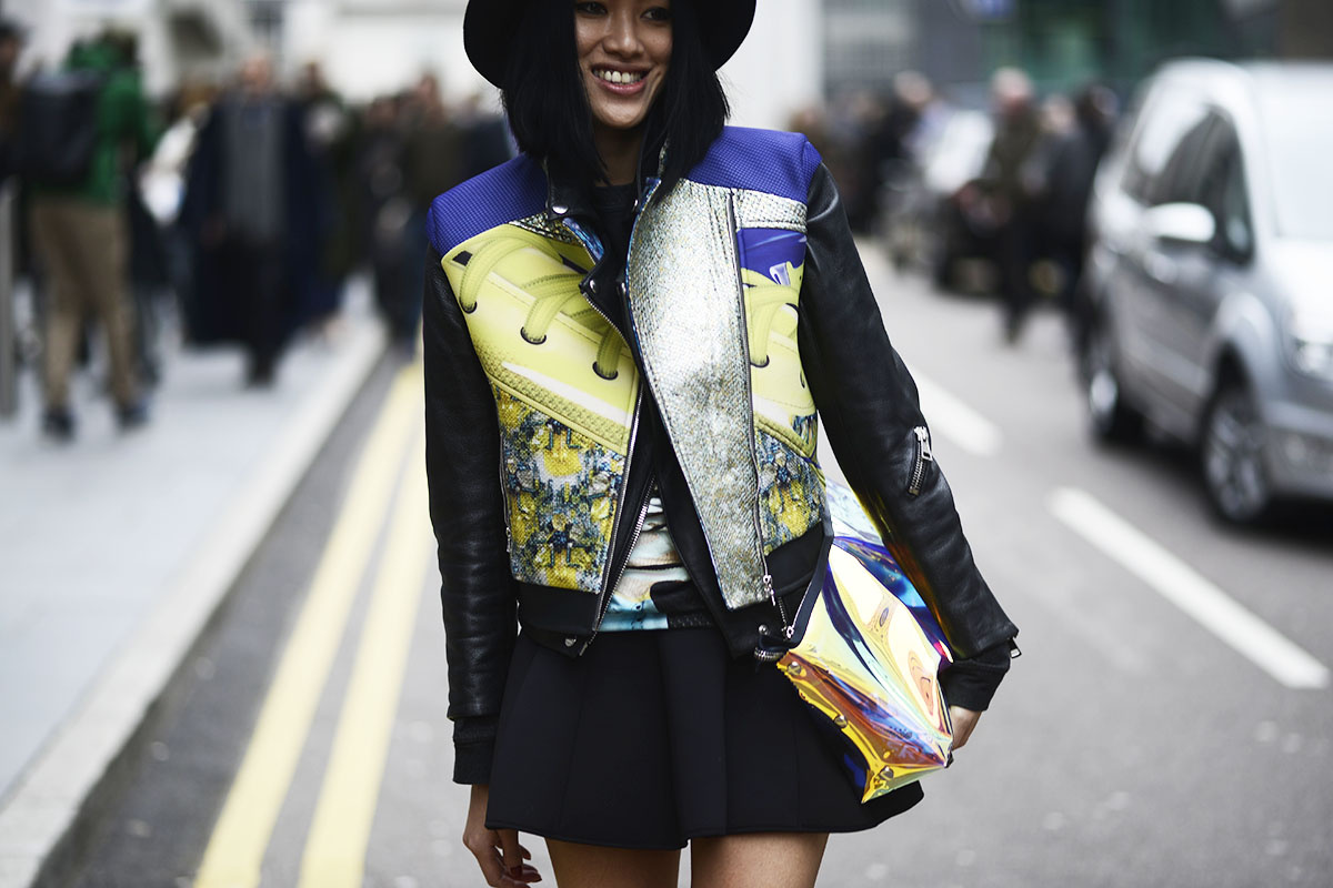 Street Style London Fashion Week M S Que Lunares