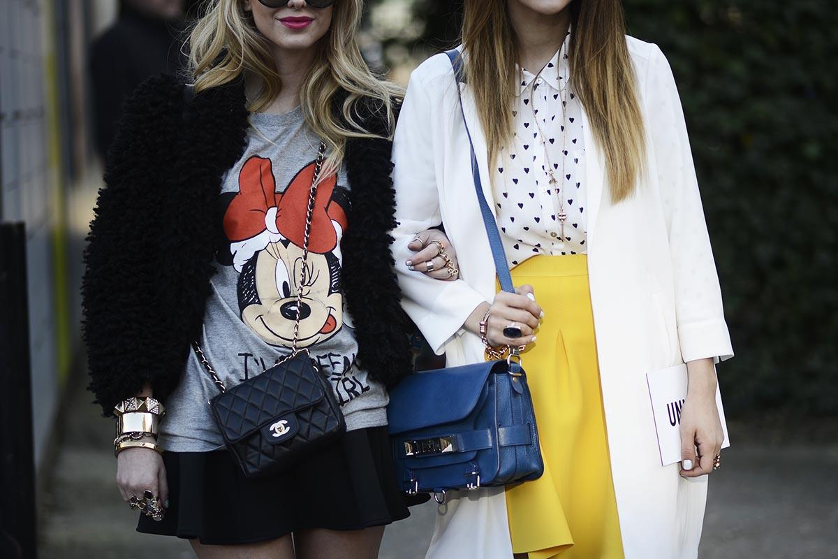 Street Style London Fashion Week M S Que Lunares