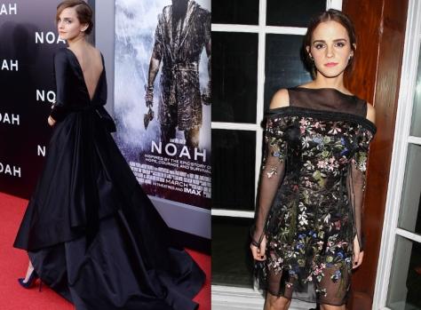 emma-watson-noah-NY-premiere-Oscar-de-la-renta-erdem-celebrity-look-2014